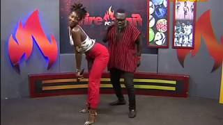 Download Ebony dances with Countryman Songo - Fire 4 Fire on Adom TV (20-11-17) Video