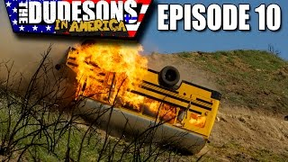 Download FLAMING BUS DOWN A CLIFF STUNT! - Dudesons In America Episode 10 Video