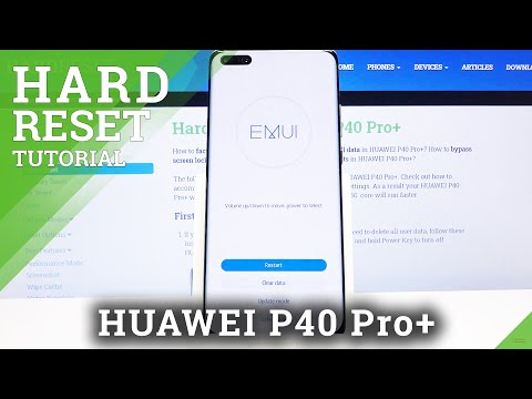 How to Hard Reset HUAWEI P40 Pro+ - Bypass Screen Lock by Recovery Mode