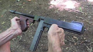 Download Thompson Submachine Gun Close-up Video