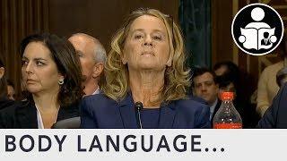 Download Body Language: Brett Kavanaugh Hearing Christine Blasey Ford Video