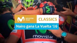 Download #LaVuelta: Nairo Quintana celebra su triunfo Video