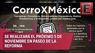Download 'Corro por México': carrera para ayudar a los damnificados del 19S Video