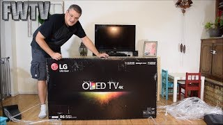 Download LG OLED55B6P OLED TV Unboxing Video