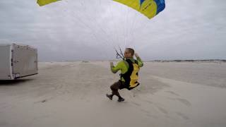 Download Paramotor SUPER Training 25mph Wind!! Powered Paragliding Best Instruction On Earth!!! Video