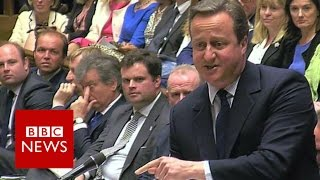 Download Cameron to Corbyn: 'For heaven's sake man, go!' - BBC News Video