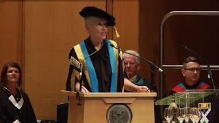 Download Chancellor Annie Lennox addresses students at GCU graduation ceremony Video