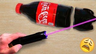 Download EXPERIMENT MOST POWERFUL LASER VS GUMMY COCA COLA Video