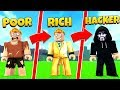 Download POOR vs RICH vs HACKER IN ROBLOX JAILBREAK Video