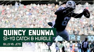 Download Quincy Enunwa's 51-Yard Gain & 3rd-Down Hurdle Lead to Powell's TD! | NFL Wk 17 Highlights Video