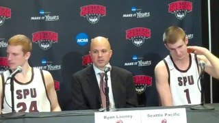 Download SPU MEN'S BASKETBALL: Post-Game Press Conference (Mar. 11, 2016) Video