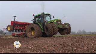 Download Drilling barley with John Deere 6400 and 4m combi-drill. From the Classic Farming DVDs. Video