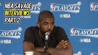 Download MOST SAVAGE NBA INTERVIEWS 2018 SEASON Video