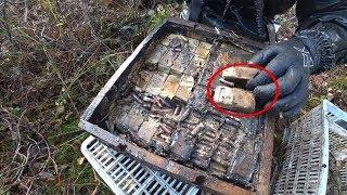 Download Стоит нырнуть в болото и сразу Винтовки, ящики с патронами, поиск на металлоискатель и магнит Video
