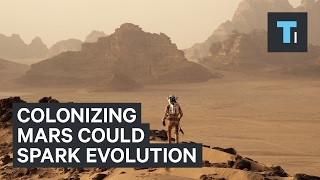 Download How colonizing Mars could spark new kind of human evolution Video