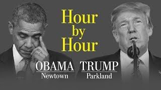 Download Opinion | An hour-by-hour comparison of Trump and Obama responding to school shootings Video