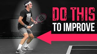 Download The EASIEST way to improve your tennis (that you're probably not doing) Video