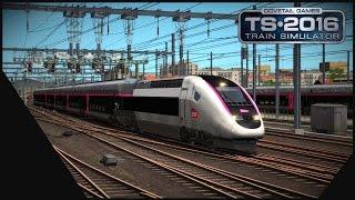 Download [Train Simulator 2016] LGV MED | Marseille - Avignon | TGV Carmillon Video