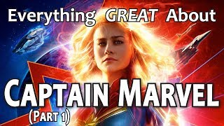 Download Everything GREAT About Captain Marvel! (Part 1) Video