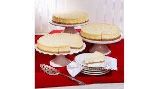 Download David's Cookies Set of 3 8″ New York Style Cheesecakes Video