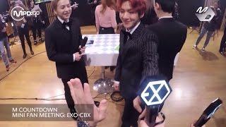 Download 엑소-CBX(첸백시) 미니팬미팅 EXO-CBX MINI FAN MEETING Mnet MCOUNTDOWN 161103 Video