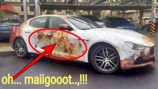 Download Kesal,!!! Mobil sering dipinjam teman, Pria ini melakukan hal aneh dan gila seperti ini Video