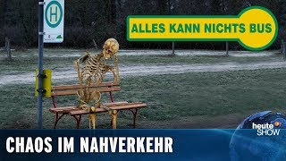 Download Öffentlicher Nahverkehr: Jede Fahrt ein Abenteuer | heute-show vom 22.03.2019 Video