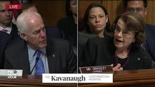 Download I did not leak Ford's letter, Feinstein says Video