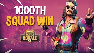 Download 1000th Squad Win!! - Fortnite Battle Royale Gameplay - Ninja Video