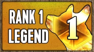 Download RANK 1 LEGEND [Hearthstone] Video