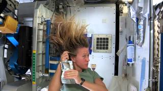 Download Karen Nyberg Shows How You Wash Hair in Space Video