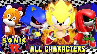 Download Sonic R - (HD) ALL SECRET CHARACTERS UNLOCKED 100% Video