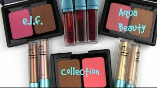 Download elf Aqua Beauty Collection: Live Swatches & Review Video