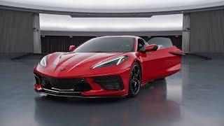 Download New CORVETTE C8 Stingray (2020) - exterior & interior, 495 HP supercar for less than 60.000$ Video