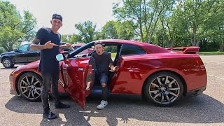 Download DRIVING ROMAN ATWOOD'S GTR! Video