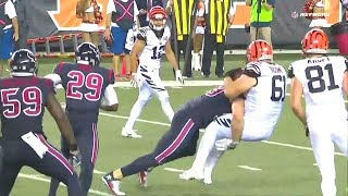 Download JJ Watt Goes Full Goldberg with Insane SPEAR on Bengals Lineman to End Game Video