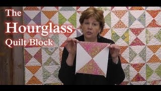Download The Hourglass Quilt Block - Learn to Quilt! Video