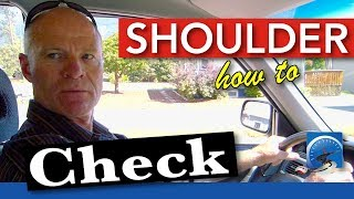 Download How to Shoulder Check :: Head Check | Pass a Road Test Smart Video