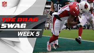 Download Best Toe-Drag Catches on the Sideline & in the End Zone of Week 5 | GMFB | NFL Network Video