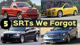 Download 5 Mopar SRTs That You Totally FORGOT Existed! Video
