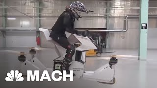 Download Hovesurf Hoverbike, The Latest Invention In Drone Technology | Mach | NBC News Video