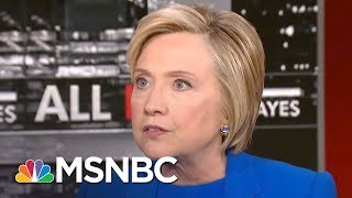 Download Hillary Clinton: 'Quite Telling' Donald Trump Attacks Black Athletes Not Neo-Nazis | All In | MSNBC Video