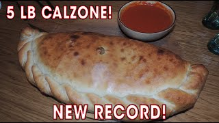 Download 5lb Italian CALZONE Challenge RECORD | Randy Santel Video