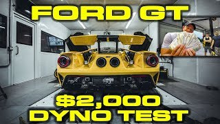 Download 2018 Ford GT Dyno Results with $2,000 in cash on the line Video