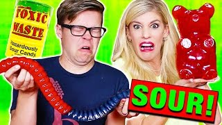Download EXTREME GIANT SOUR GUMMY CHALLENGE! Toxic Waste, Citric Acid (EXTREMELY DANGEROUS!) Video