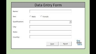 Download How to make Macro enabled Form in Excel Sheet? Video