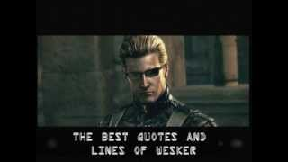 Download Albert Wesker - The best quotes and lines Video