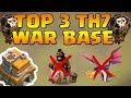 Download Top 3 Town Hall 7 War Base 2018 | CoC Th7 Best War Base Layouts Anti-Drags | Clash of Clans Video
