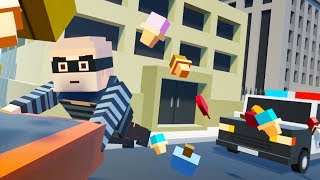 Download The Great Ice Cream Heist! - Tiny Town VR Gameplay - VR HTC Vive Video