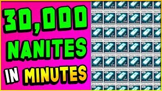 Download HOW TO MAKE 30,000 NANITES IN 10 MINUTES! | No Man's Sky Guide (Triple Duplication Glitch?) Video